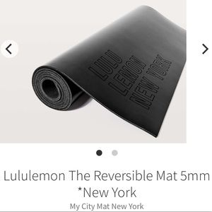 Lululemon Special Edition Reversible Mat 5mm NY